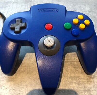 Official BLUE Controller Control Pad For Nintendo 64 N64 -