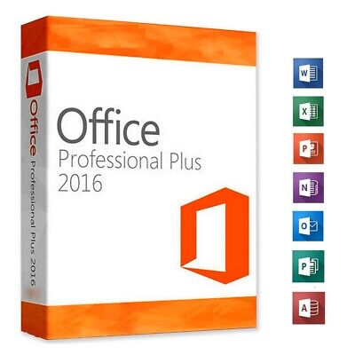 Office 2016 Professional Plus Genuine Key + MS Site Direct Download