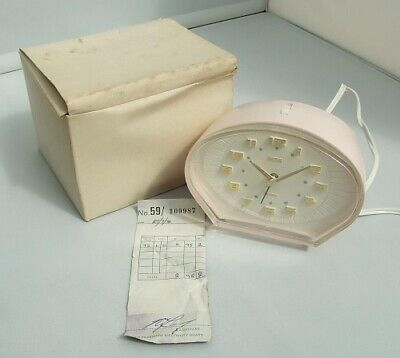 Vintage Smiths Sectric electric alarm clock. Mint/boxed. Working order. EC14