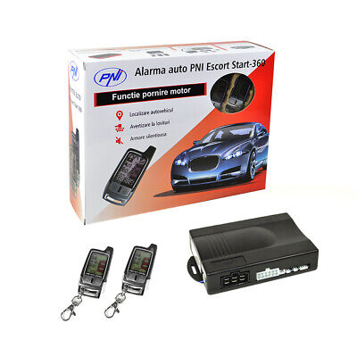 Car Alarm PNI Escort Start 360 mit Pager und Motorfernstart