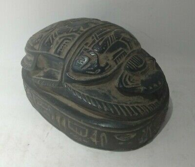 Rare Ancient Egyptian Antique Scarab 1456-1236 Bc (2)