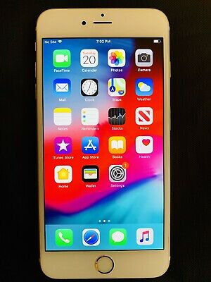 Apple iPhone 6s Plus - 128GB - Gold (AT&T) A1634 (CDMA + GSM)
