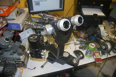 Most of an American Optical Slit Lamp, no eyepieces, no frame, optical path good