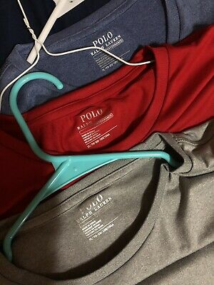 LOT of 3 Performance Polo Ralph Lauren T-Shirts SIZE XL NWT