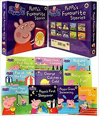 Peppa's Favourite Stories: 10 Book Collection, Peppa Pig, New,
