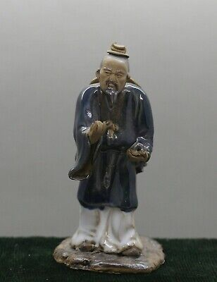 One of A Kind Individually Made Vintage Chinese Ceramic Statue Boxed