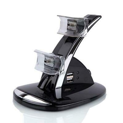 LRT Dual Controller Charger Dock Station Stand Charging for Playstation PS3 J1