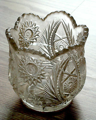 EAPG clear glass ATLANTA pattern WESTMORELAND #228 spooner 1908 AS IS