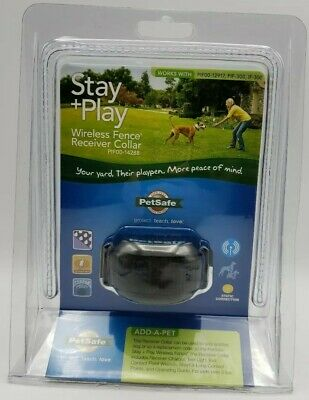 Petsafe Stay Plus Play Wireless Dog  Fence Receiver Collar PIF00-14288