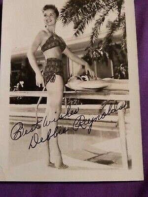 Autographed photo Debbie Reynolds