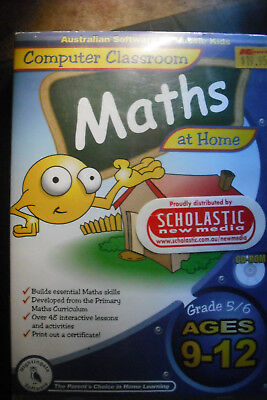 Maths Computer Classroom Grades 4 and 6 Ages 9-12 CD