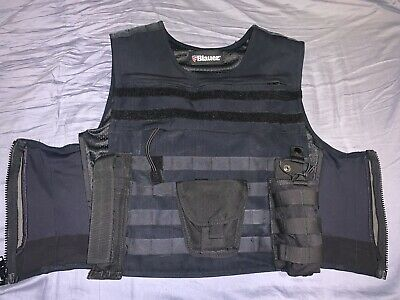 New Blauer DARK NAVY Polyester ArmorSkin Vest Outer Carrier Uniform Cover 8370