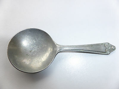 Vintage National Silveroid Caddy Spoon Reg.no 735601