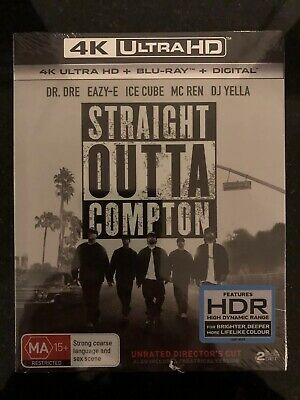 Straight Outta Compton****4K Ultra Hd Blu-Ray****Region Free****New & Sealed