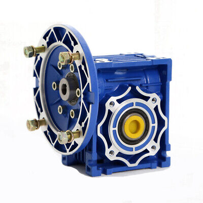 100:1 Worm Gearbox Speed Gear Reduction NMRV040 Reducer 63B14 For Stepper Motor