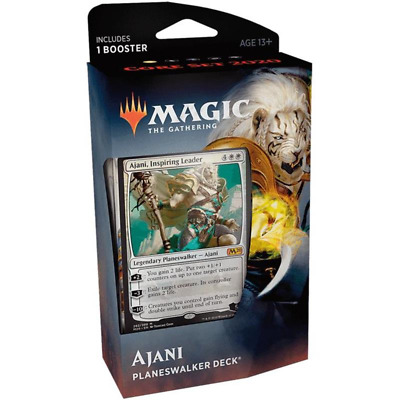 Mazzo Ajani Magic The Gathering Set Base 2020 + 10 Buste Set Base 2020