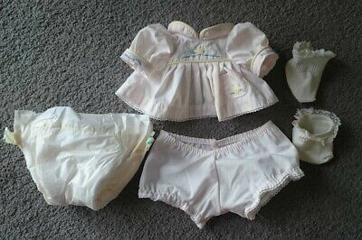 My Child Doll Pink Ducky OutfitOriginal SocksPampers Nappy