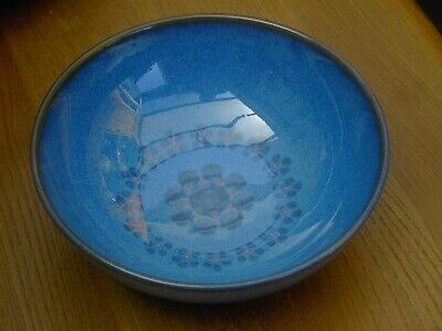 Denby Midnight Large Cereal  Bowl 17cm in Diameter Good Condition  Free UK P&P