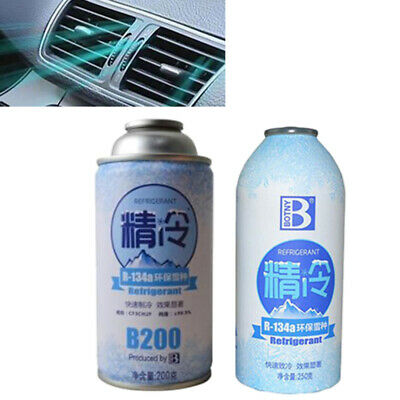 R134A Seal Automotive Snow Species Refrigerant Fast Cooling Cans Eco-Friend O2Y4