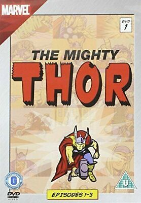 The Mighty Thor (DVD, 2011) Animation Epsodes 1-3