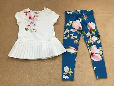 Ted Baker Leggings & Top Outfit aged 8 to 9