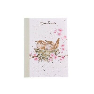 A6 Nesting Wrens Little Tweets Notebook – Wrendale Designs Country Set