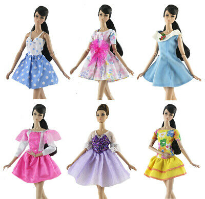 New 6 PCS Lovely Colorful Clothes/Ballet dress tutu Skirt For 11.5in.Doll