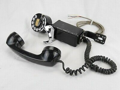 """Western Electric 1950s 43A """"Space Saver"""" G1 rotary dial mount - WORKS  (#Q07)"""