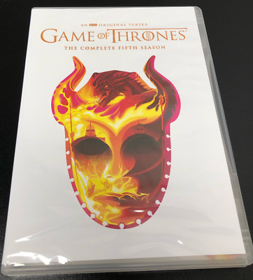 GAME OF THRONES : The Complete Fifth Season 5 Limited Edition 5 Disc DVD