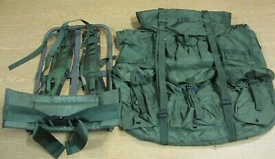 New Complete USGI OD Green LC-1 Large Alice Field Pack With Frame,Kidney,Straps