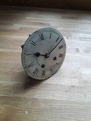 French Mantel Clock Movement For Spares/Repair.