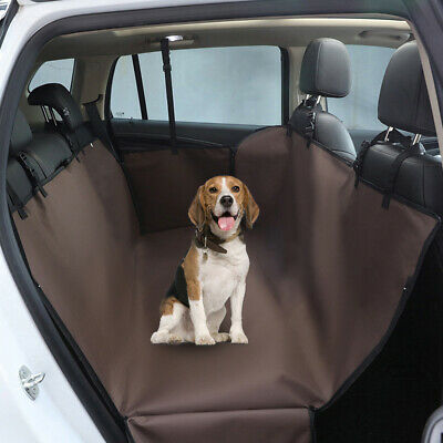 Coffee Car Rear Pet Dog Back Seat Cover Auto Protector Waterproof Hammock Mat