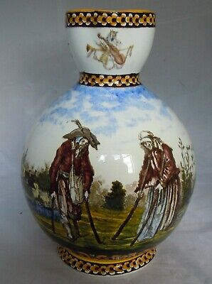 Fine Quality 19th Century Faience Pottery Pitcher Jug