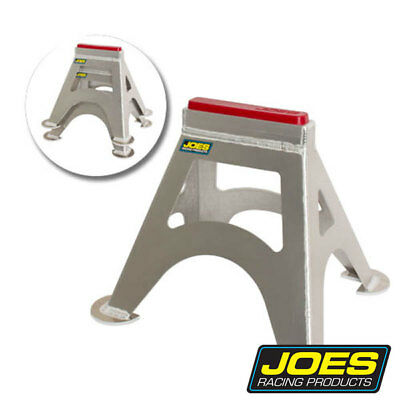 "Joes Jack Stands Pair Aluminum Stackable 14"" Tall Urethane Pad Joe#55500"