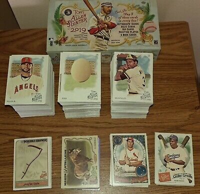 2019 TOPPS ALLEN & GINTER Lot COMPLETE YOUR SET You Pick 25 Cards SP Base Insert