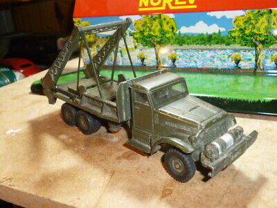 ANCIEN JOUET FRANCE  DINKY TOYS CAMION GMC BROCkWAY TOLE MILITAIRE