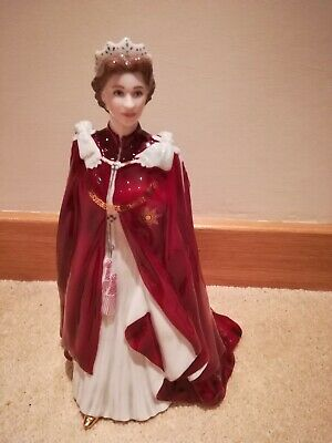 Royal Worcester - In Celebration Of The Queen's 80th Birthday 2006 figurine