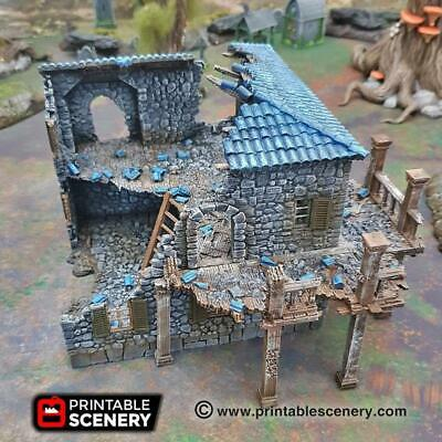 15MM WARGAMES MEDIEVAL/FANTASY Scenery/Buildings Collection