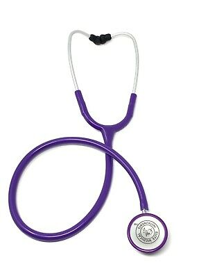 EMI Light Weight Clinical Cardiology Stethoscope - Purple Perfect for Nurses