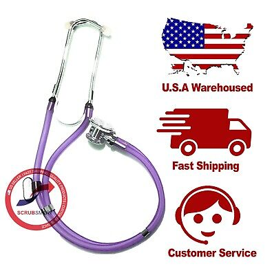 US Seller EMI Sprague Rappaport Medical Nursing Stethoscope - Translucent Purple