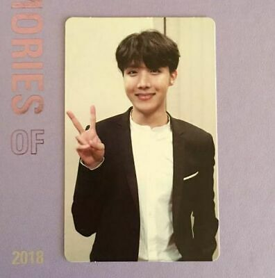 BTS - J-HOPE - Photocard - MEMORIES of 2018 - Official