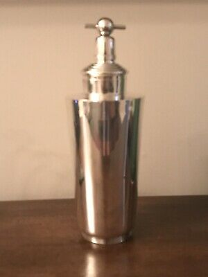 Sterling Silver Art Deco Cocktail Shaker