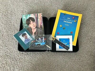 BTS 2018 Summer Package Full Package Black Box JHOPE Guide Book KPOP NEW