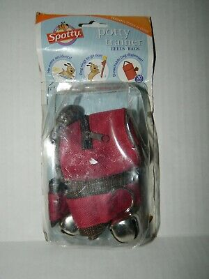 SPOTTY Potty Trainer for DOGS Bells & Bags* NEW