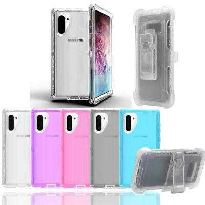 Defender Case for Samsung Galaxy Note 10 /Note 10 Plus /PRO (Clip Fits Otterbox)