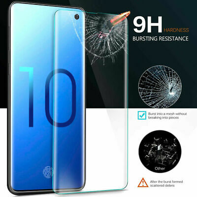 For Samsung Galaxy S9 S8 Plus Note 9 S10 Plus Tempered Glass Screen Protector