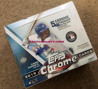 2019 Topps Chrome Baseball Jumbo Box Free Same Day Priority Shipping Live!!!!!!!