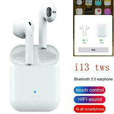 i13 Touch Control Bluetooth Headphones Wireless Earbuds Headset With Microphone