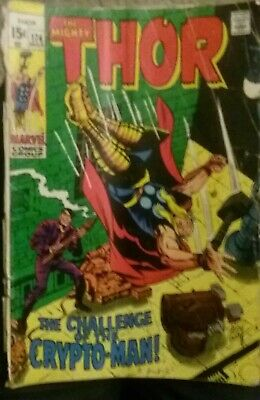 The Mighty Thor The Challenge Of The Crypto -Man!! March 1970