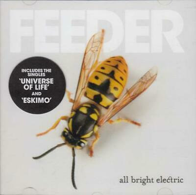All Bright Electric Feeder UK CD album (CDLP) promo COOKCD651 BIG TEETH MUSIC